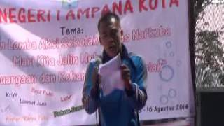 Video PUISI NARKOBA (Faisal Rumampuk) SMA NEG. 1 AMPANA KOTA download MP3, 3GP, MP4, WEBM, AVI, FLV Juli 2018