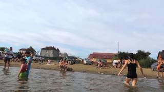 Астрахань лето, пляж.29.06.2014г.