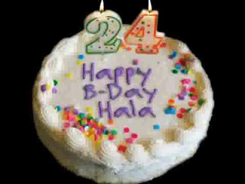 Happy Birthday Hala
