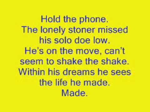 Kid Cudi - Day 'n' Nite (Lyrics)