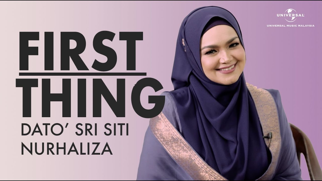 Dato' Sri Siti Nurhaliza - FAILED SEMASA MENYANYI? | 7 First Thing