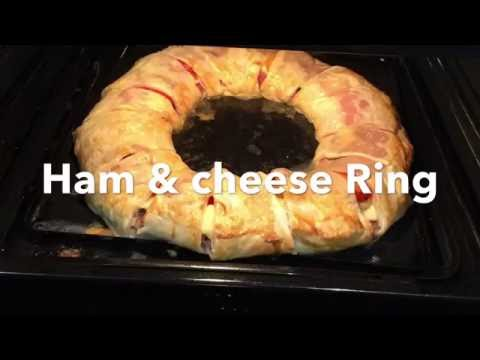 HAM AND CHEESE RING **Tasty Recipe**