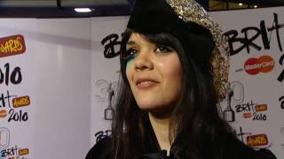 Lily Allen 'terrified' before Brits performance