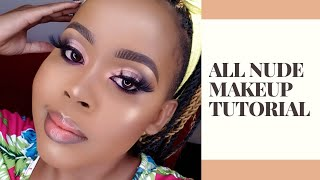 DETAILED NUDE MAKEUP TUTORIAL FOR BEGINNERS