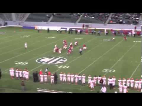 Joshua Thomas 2012 Football Highlights