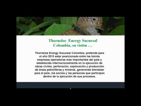 Thorneloe Energy Colombia