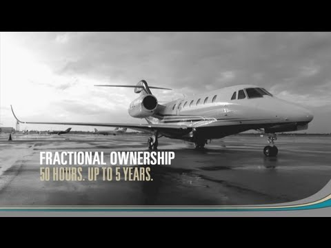 Flight Options® Fractional Private Jet Ownership Program Overview