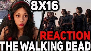 The Walking Dead : 8x16 REACTION (+ CONCOURS) / FR