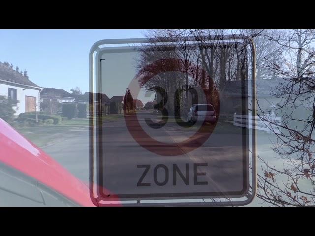 Dokumentation über die Schaffung der 30er Zone in Gockenholz