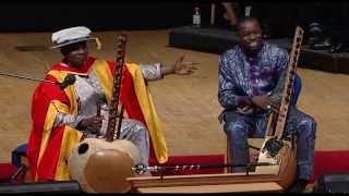 Musical Interlude: Toumani Diabaté and Sidiki Diabaté, Graduation 2015, SOAS University of London