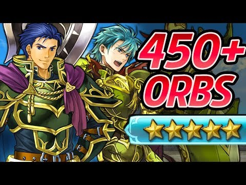 Fire Emblem Heroes - 450+ Orbs Summons - Brave Hector & Ephraim Hunt! [Arrival of the Brave - CYL2]