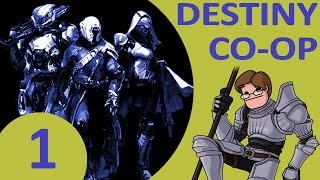 Let's play destiny co-op part 1 - the great (?) race feat. wanderbot and mrrokwar