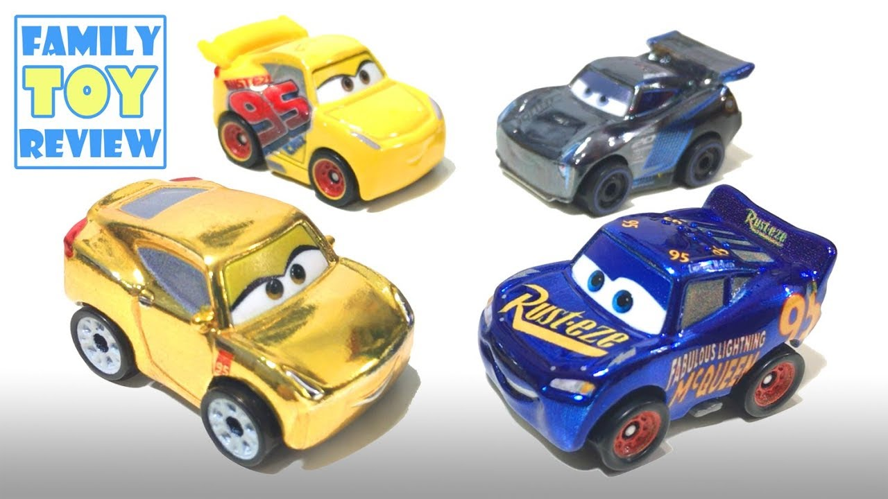 DISNEY PIXAR CARS DIE CAST MINI RACERS Mystery Bag