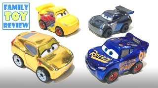 NEW Disney Cars 3 Toys MINI RACERS METALLIC Series - GOLD Cruz Ramirez - Slither.io Fidget Spinner