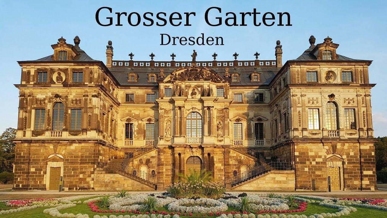 The Großer Garten A 17th Century Baroque Park In Central Dresden