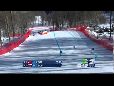 Maze Gisin Women's Downhill Sochi 2014 Winter Olympics