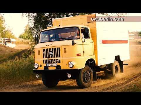 East German 4X4 Offroad Truck IFA W50LA. ИФА В50ЛА ( обзор и покатушки )