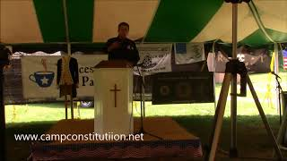 Sheriff Richard Mack at the 5th Annual Flag Day 2nd Amendment Rally