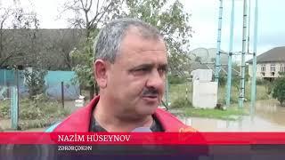 Lənkəran və Astarada həyətləri su basıb