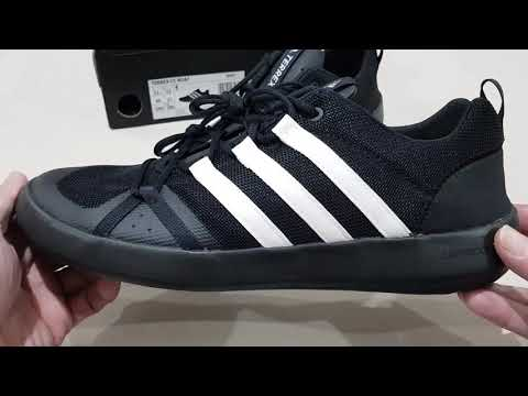 Unboxing ADIDAS TERREX CLIMACOOL BOAT LACE BZ0571 OUTDOOR WATER SHOES (100% ORIGINAL ASLI & RESMI)