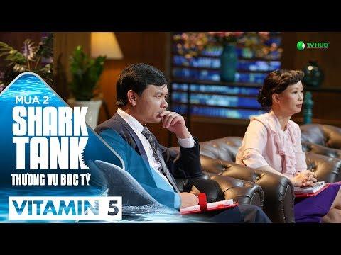 Shark Tank Vitamin 5 | Không Cn Khiêm Tn Nhng Hãy Tht Thà