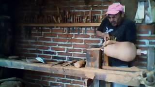 artesanias en madera de granadillo paracho michoacan