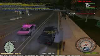 Ucieczka przed LSPD net4game. Admiral vs dwa sultany XD