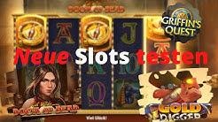 Online Casino Slots- DOOM OF DEAD, Gold Digger, Griffin´s Quest Freispiele?! + Gewinnspiel Auflösung
