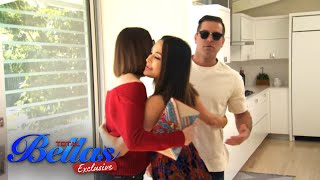 Brie gives brother JJ and his wife Lauren a tour of their San Diego home | Total Bellas Exclusive