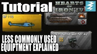 LESS COMMONLY USED EQUIPMENT - DAY 5 - Hearts of Iron 4 HOI4