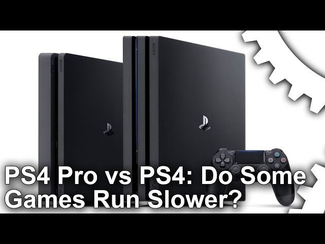 Why are some PS4 Pro titles running slower than base