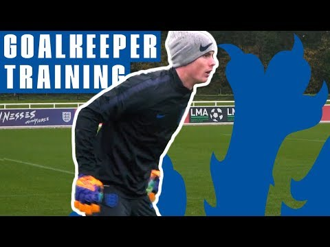 New Reaction Drill And One-on-ones! | Goalkeeper Training | England U21