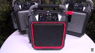 Monster Rockin Roller Pro - Wireless Indoor/Outdoor Bluetooth Speaker