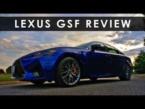 Review | 2017 Lexus GSF | V8 Redemption