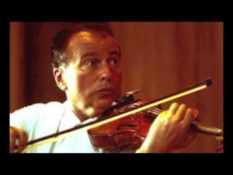 Henryk Szeryng plays Schumann's Violin Concerto-1st Movt ('live')