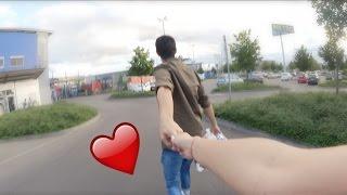 Unser romantischer Weg zum Pfandautomaten. ♥︎