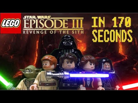 Star Wars Revenge Of The Sith In 170 Seconds Lego Stopmotion Youtube