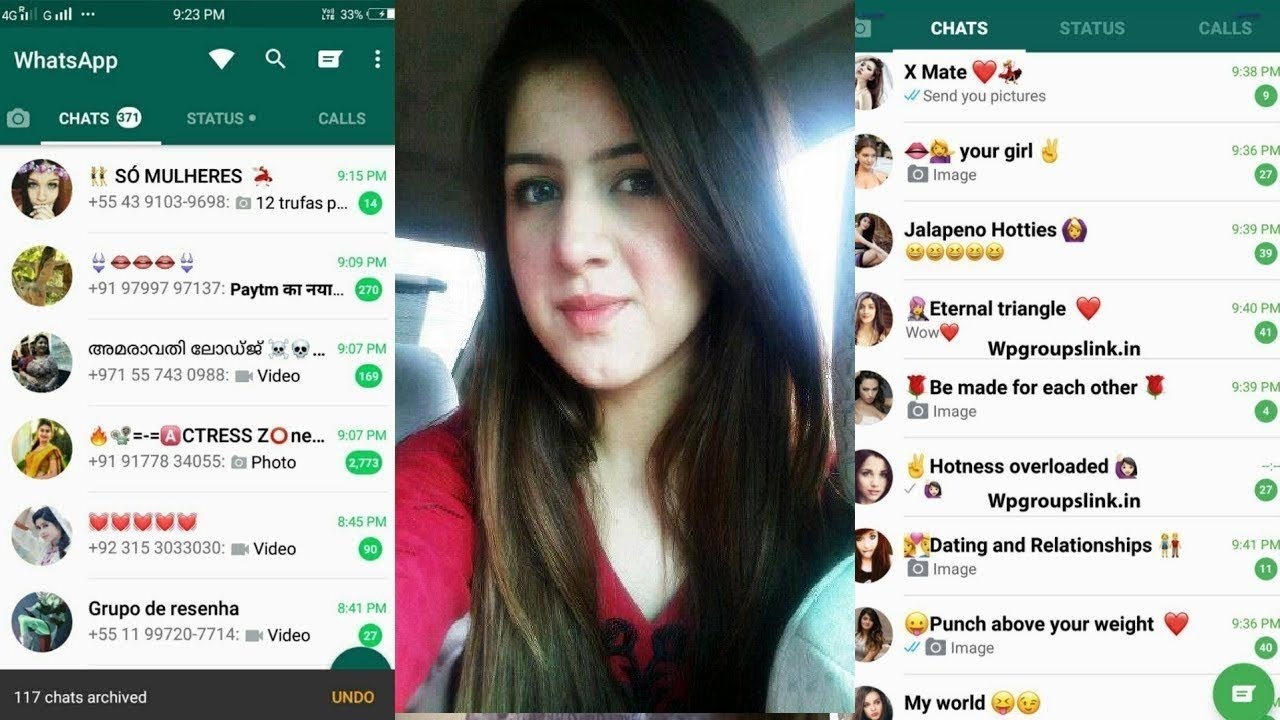 Number whatsapp chat girl Single Females