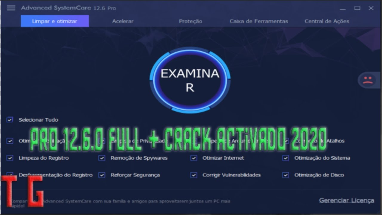Advance SystemCare Pro v12.6.0.368 Full + Crack Activado permanentemente 2020