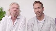 Ryan Reynolds & Richard Branson | Announcement