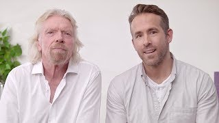 Ryan Reynolds & Richard Branson | Announcement