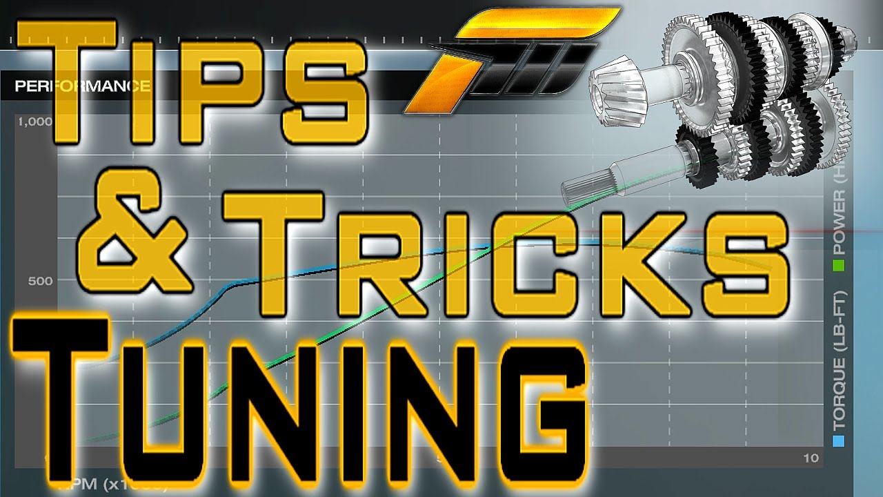 How To Tune Your Car Forza Tuning Easy Tune Setup For All