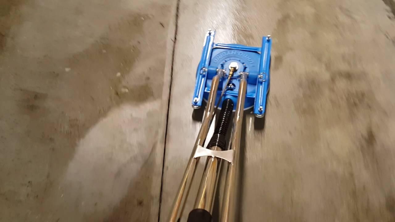 turbo hybrid tile cleaning spinner wand
