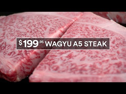 How To Grill $199 Steak - Japanese Miyazaki Wagyu A5