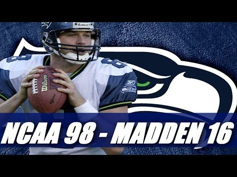 Matt Hassellbeck Through the Years - NCAA Football 98 - Madden 16