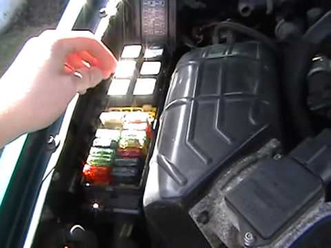 2006 Mercury Milan Fuse Box Diagram First Start 94 Explorer In 09 Youtube