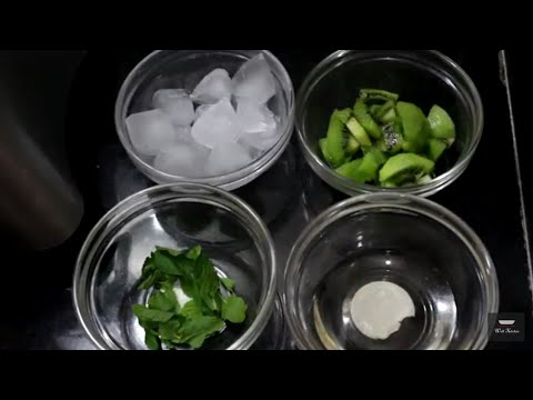 KIWI Mojito Mocktail at Home Recipe   KIWI FRUIT JUICE   HEALTH Drink