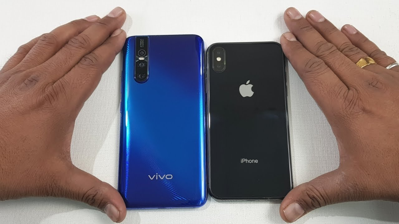Vivo V15 Pro vs iPhone X SpeedTest & Camera Comparison ...