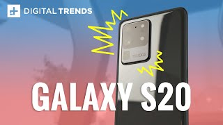 First Look at the Samsung Galaxy S20 | Hands On