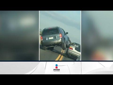 Volcó su camioneta por responder a un escupitajo | Qué Importa